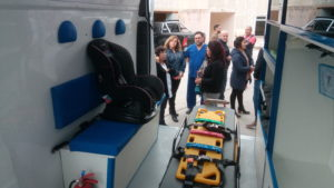 Ambulancia Sierra Grande