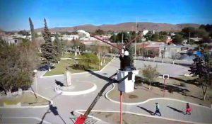 Wifi en la plaza de Sierra Grande